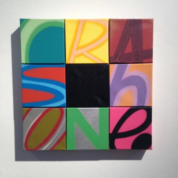 Installation view at broken english, Crash One at Jonathan LeVine Gallery