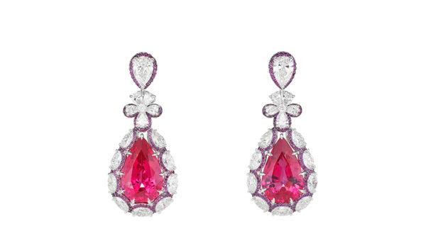 Rising-Stars-Chopard-Spinels-earrings
