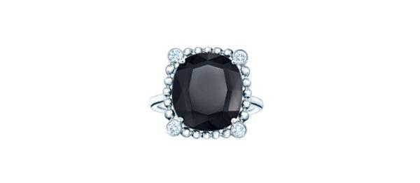 Tiffany & Co. : Ziegfeld black spinel ring