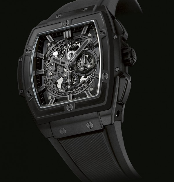 Spirit of Bing Bang All Black; Guadalupe considers the all-black concept to be one of Hublot's most memorable milestones