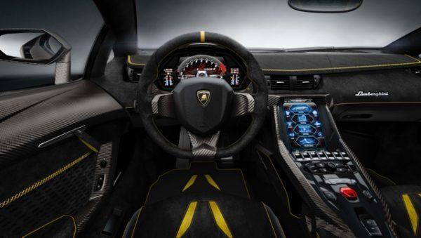 Lamborghini+Centenario+Interior