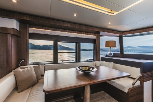 Intimate dining with a view