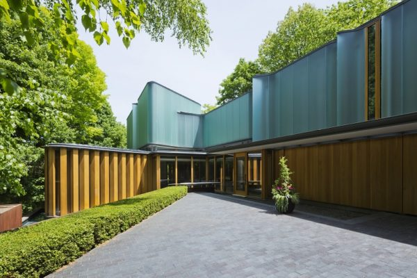 The Integral House in Integral House in Rosedale is listed with Sotheby's International Realty Canada for CAD $22.9 million (US$17.2 million)