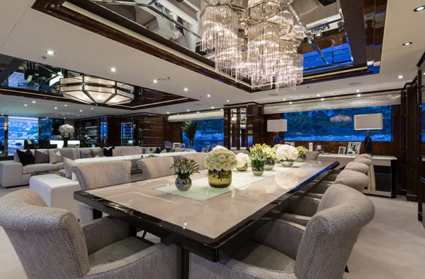 Benetti-MY-11-11-Dining-Area