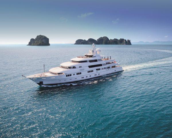 Titania - The ultimate charter vessel