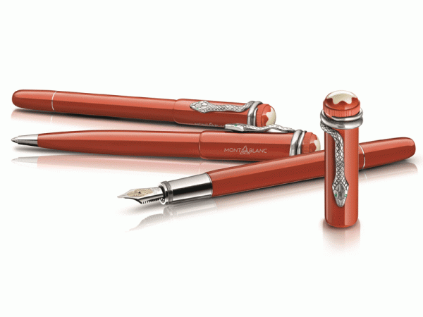 Montblanc Heritage Collection Rouge & Noir Writing Instruments