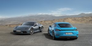Porsche Cayman Boosted to 718 in Beijing