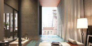4 High Rise Condos with Balcony Pools