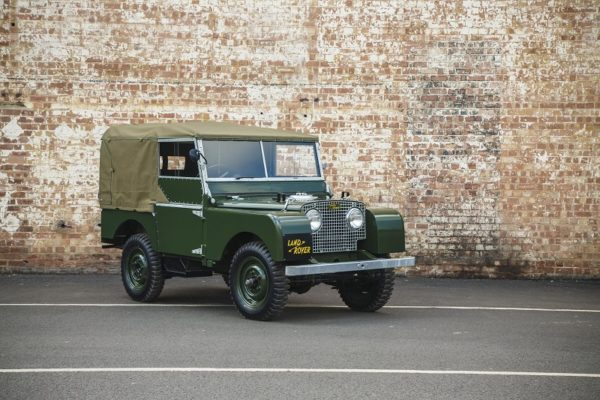 Techno Classica will mark the world debut for Land Rover Series I 'Reborn.'