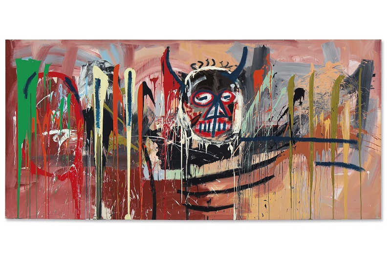 Untitled (1982) by the street art-inspired Neo-Expressionist Jean-Michel Basquiat sold for $57 million at a Post-War and Contemporary Art sale at Christie's New York recently. This price will include a buyer's premium.