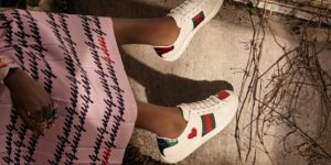 Alessandro Michele Tailors Gucci Sneakers