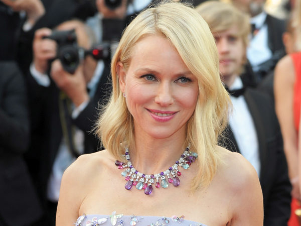Naomi Watts wearing Bulgari's High Jewelry collection.