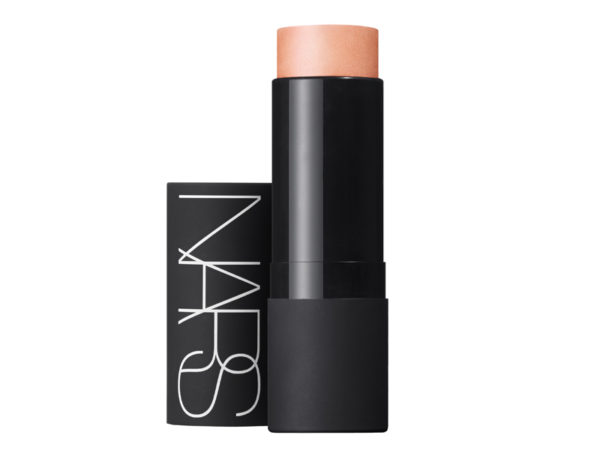 Nars Illuminating Multiple in Hot Sand ($60) can be applied under foundation, and on the eyes, cheeks and lips.
