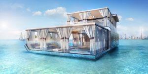 Floating Seahorse Villa Dons Emirati Style
