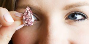 Most Expensive: $31 million Unique Pink Diamond