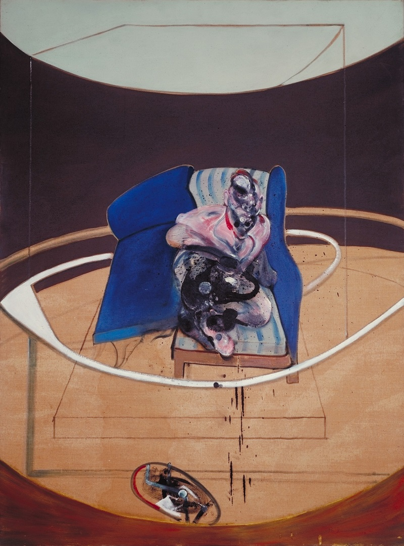 Francis Bacon, 'Study for Portrait on Folding Bed,' 1963