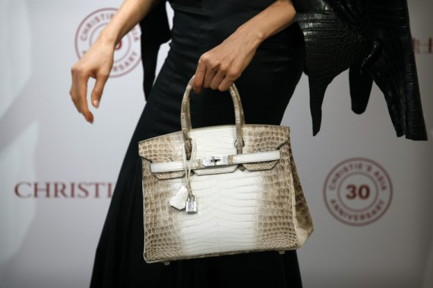 82c5db900e Diamond-set Hermes Birkin Breaks Auction Record