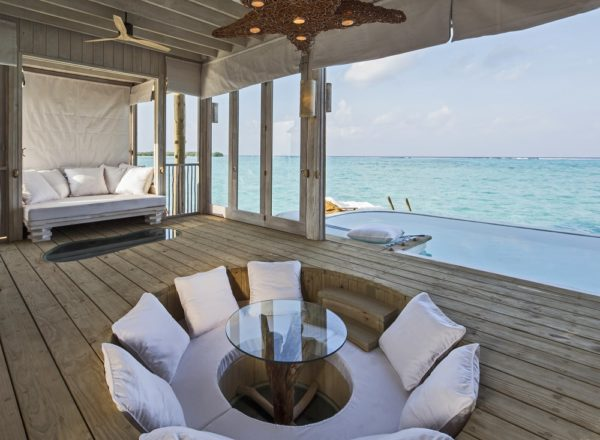 1 Bedroom Overwater Villa_Living Area by Richard Waite