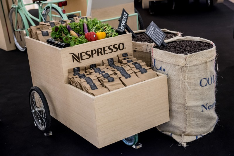 Get a wheatgrass growing kit and a Quan Fa voucher when you recycle your used capsules at Nespresso on Wheels