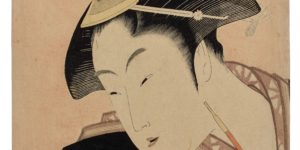 Utamaro Woodblock Print Sets Auction Record