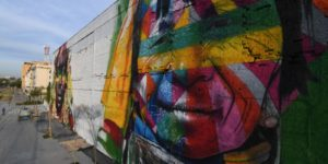 Massive Olympic Mural Colors Streets of Rio