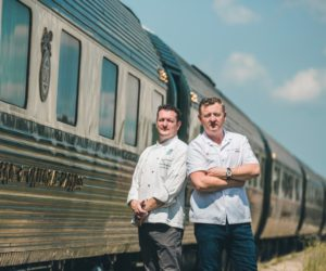 Eastern & Oriental Express, Asia - Chef Yannis Martineau, Executive Chef of E&O and Chef Luke Mangan, Salt Grill and Sky Bar