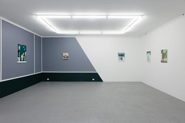 Galerie Pompom (Mason Kimber, Oltre la Vista, installation view, Galerie pompom, Sydney. Photo - Docqment)
