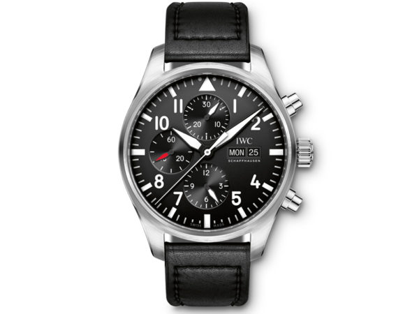 The IWC Pilot's Watch Chronograph has a soft iron inner cage