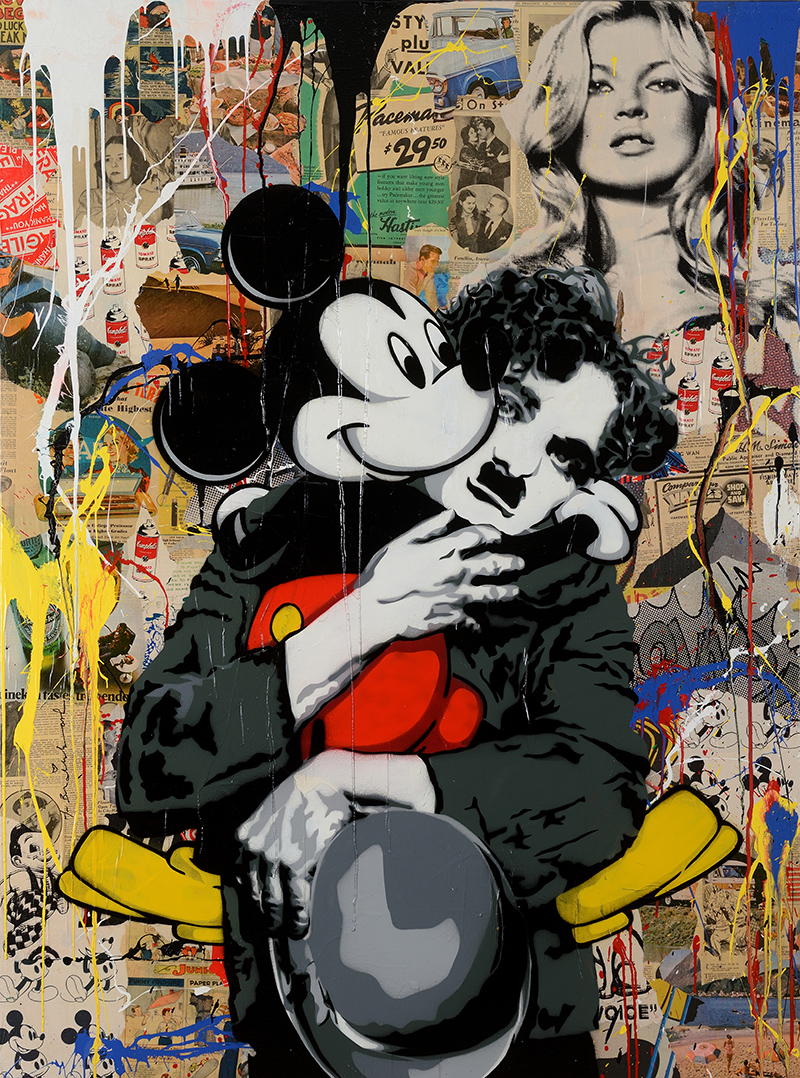 Thierry Guetta Mr Brainwash Makes A Mark