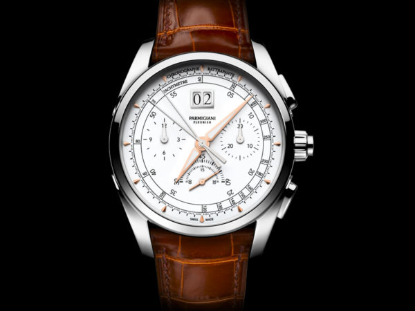 Parmigiani Fleurier's PF361 calibre in the Tonda Chronor Anniversaire