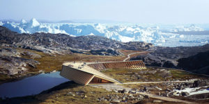 Icefjord Centre: Climate Change Observation Deck