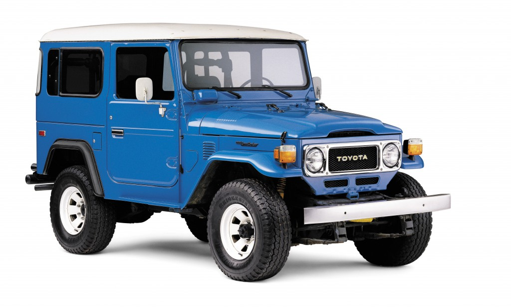 classic cars Japanese models The Toyota Land Cruiser J40 1960-1984