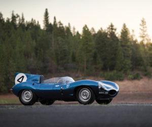 1955 Jaguar D-Type Pebble Beach Concours 2016