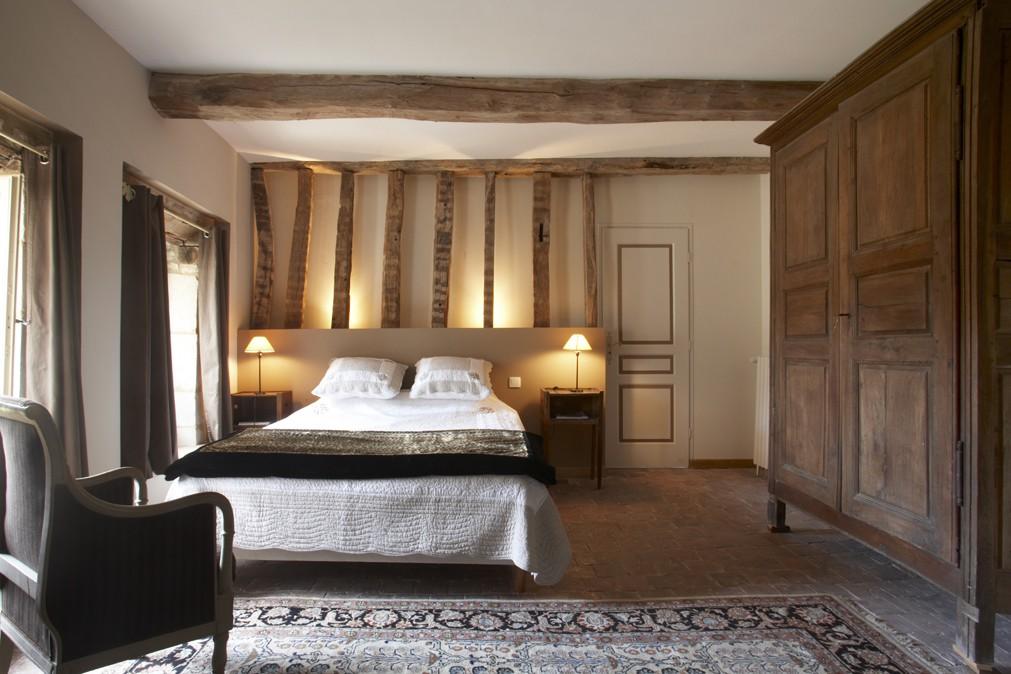 Château de Béru guest room