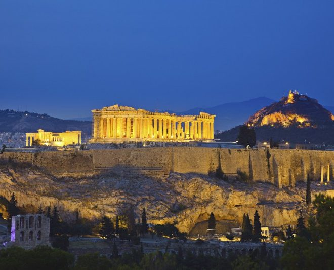 Greece-athens-panthelon-acropolis