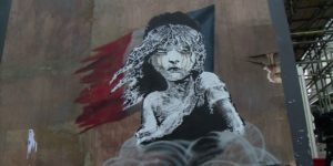 Banksy Mural Destroyed by Building Work