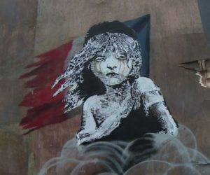Banksy mural destroyed