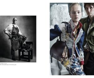 Burberry see now buy now campaign visual