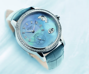Glashütte Original PanoMatic Luna: Pale Blue Watch