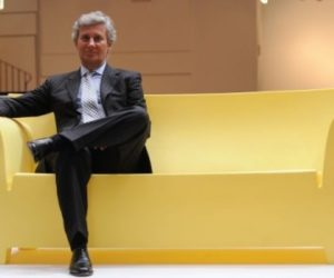 CEO of Italian design company Kartell, Claudio Luti