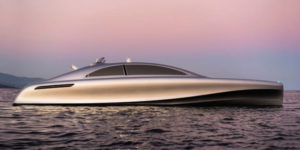 Mercedes Unveils ARROW460-Granturismo Yacht Design