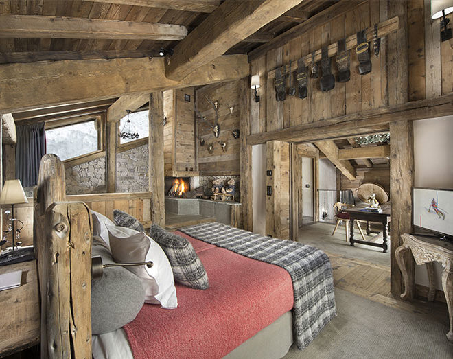 French ski lodge La Bouitte in the French Alps © La Bouitte, Relais & Chateaux