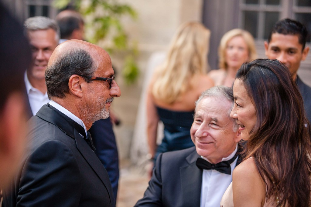 Richard Mille with Jean Todt, Cocktail during Concours Art & Elegance Richard Mille 2016 at Chantilly on September 4th 2016 - Photo Alexis Goure / DPPI