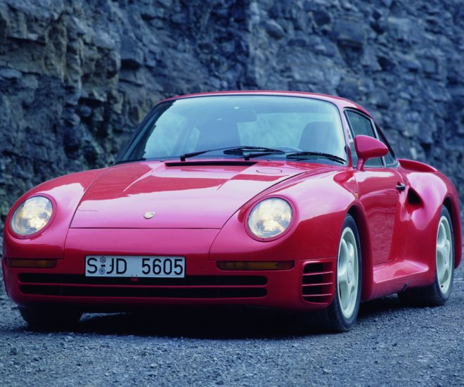 Bill Gates classic cars Porsche 959