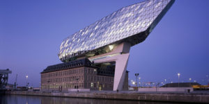 Zaha Hadid Architects Visionary Antwerp Port House