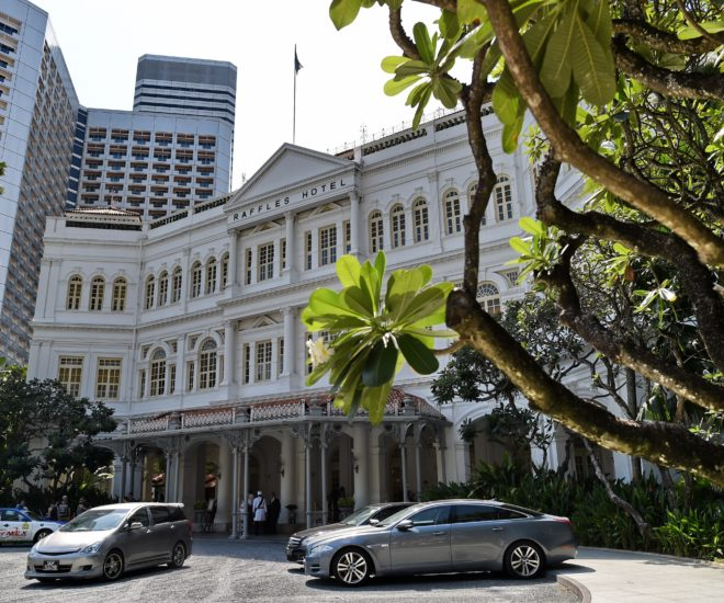 Raffles Hotel Shuts for Renovation in 2017