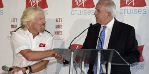 Branson Launches Virgin Voyages, Says Cruises Boring