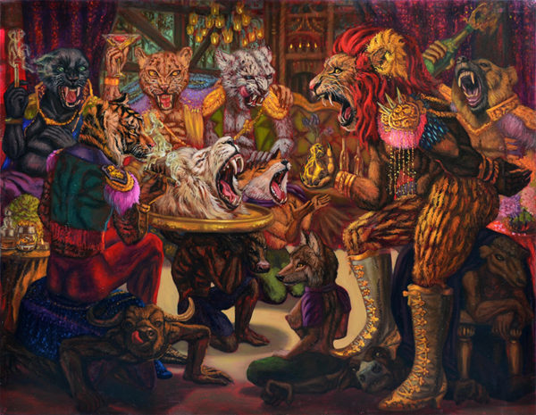 number-1-gallery-from-thailand_leela-promwong_patronage-system-2_oil-on-canvas_140-x-180cm_2016