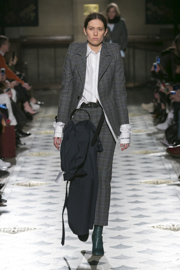 Vetements Fashion Show Fashion Week, Ready To Wear Fall Winter 2016 Collection in Paris