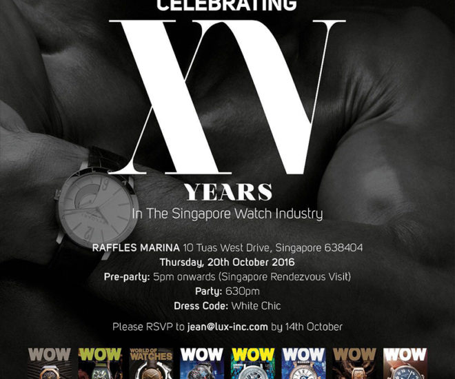 WOW Celebrates 15 Years At SINGAPORE RENDEZVOUS